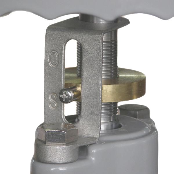 露出配管用開度計付エクセルソフト仕切弁3