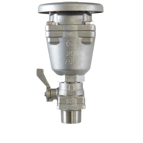 凍結破損防止RS-3形急速空気弁(ステンレス製)1