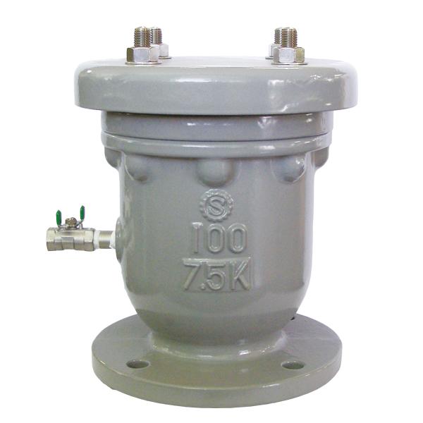 玉押器対応型急速空気弁1