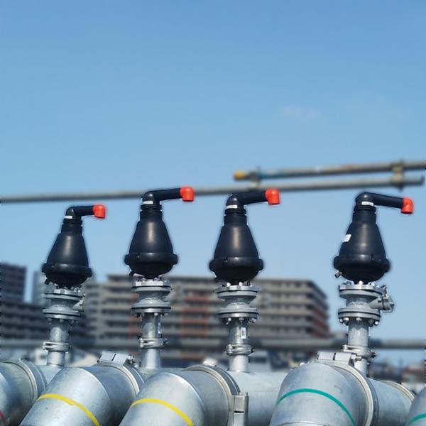 原水・農水・下水・雨水用空気弁スペースエア Space Air(ナイロン樹脂製)2