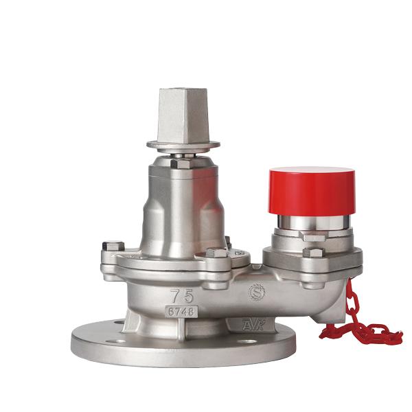 ステンレス製弁体収納式地下式消火栓 サスキャメル1