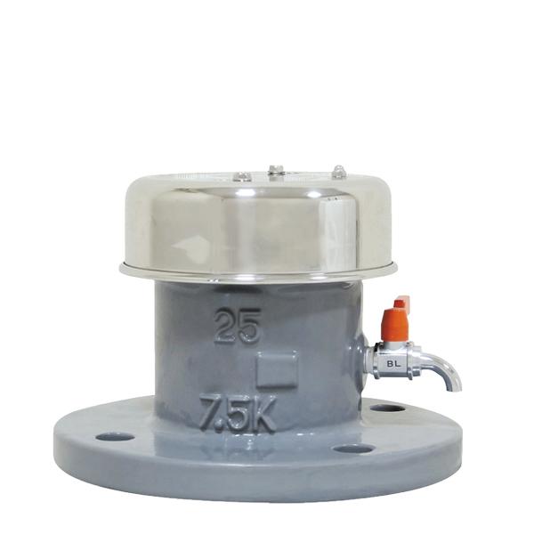 ラクラク(簡易分解式水道用急速空気弁)1